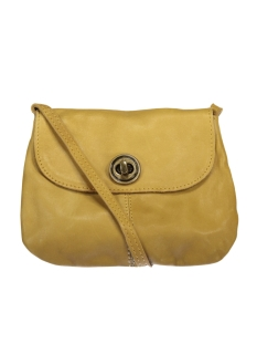 Pieces Tas PCTOTALLY ROYAL LEATHER PARTY BAG N 17055353 Nugget Gold