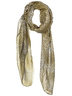 Pieces Sjaal PCELFRIDA LONG SCARF CLW 17079170 Nugget Gold