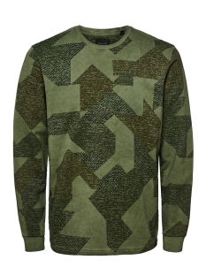 Only & Sons Sweater onsKENNETH AOP SWEAT 22009206 Dried Herb