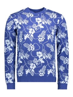 Only & Sons Sweater onsMATTI FLOWER CREW NECK SWEAT EXP 22010610 Sodalite Blue