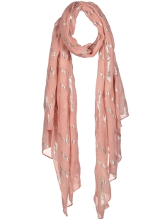 Only Sjaal onlNAILA WEAVED FOIL SCARF ACC 15155295 Blush / Silver Foil