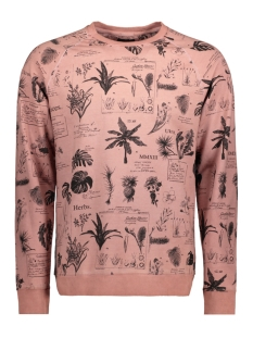 Only & Sons Sweater onsROGAN AOP SWEAT REG 22010137 Misty Rose