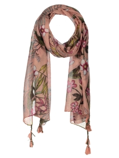 Only Sjaal onlNAOMI WEAVED TASSEL SCARF ACC 15155383 Rose Dawn/CREOLE FLO