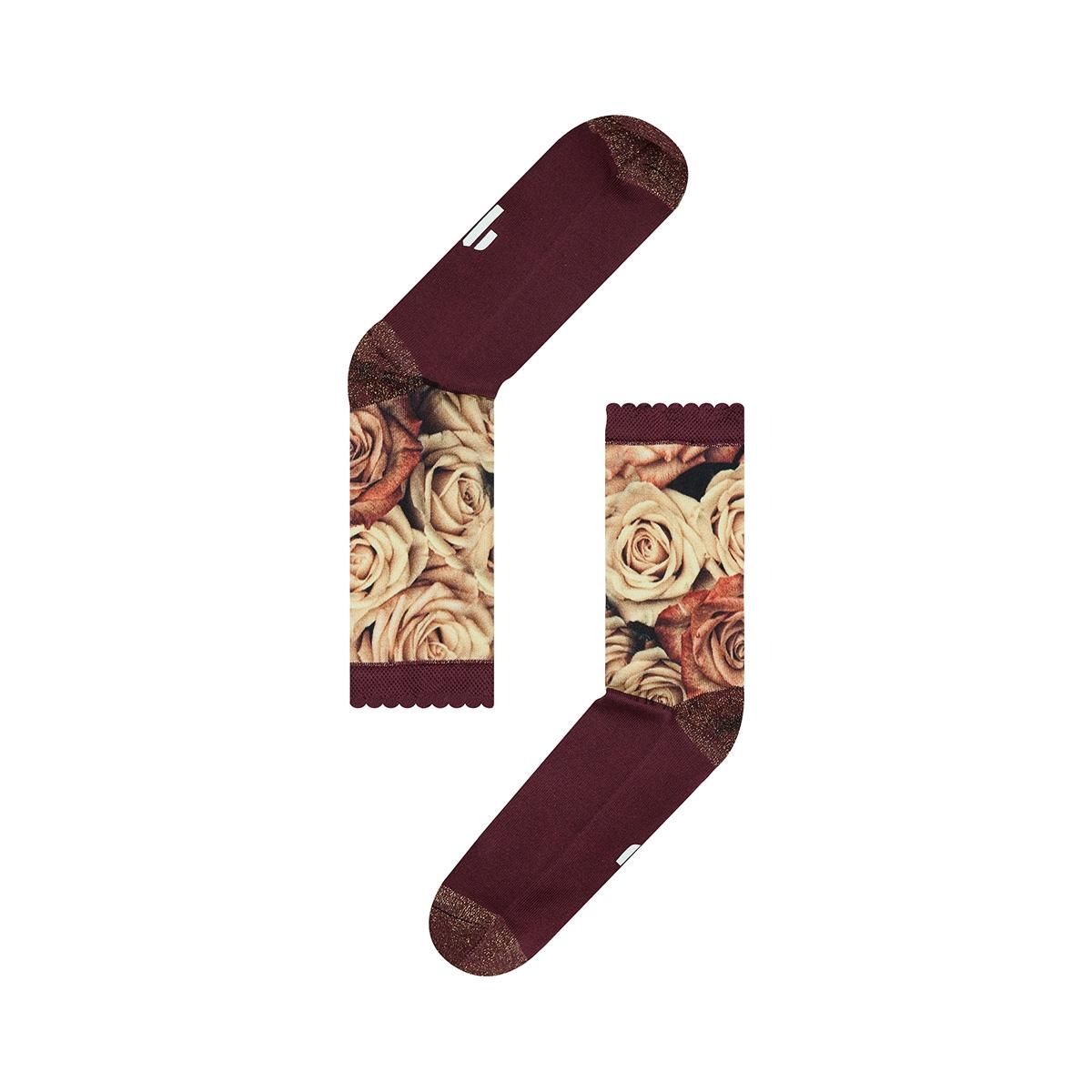 fw18w011 rose sock my feet accessoire multi