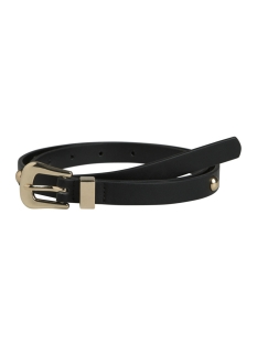 Pieces Riem PCANYA JEANS BELT D2D 17092430 Black/Gold