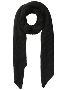 Pieces Sjaal PCDACE LONG WOOL  SCARF NOOS 17090600 Black