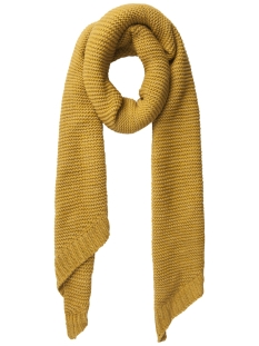 Pieces Sjaal PCDACE LONG WOOL  SCARF NOOS 17090600 Nugget Gold