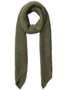 Pieces Sjaal PCDACE LONG WOOL  SCARF NOOS 17090600 Winter Moss