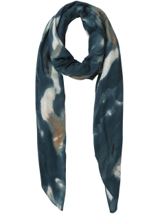 Pieces Sjaal PCTEMPLA LONG SCARF 17091558 Legion Blue