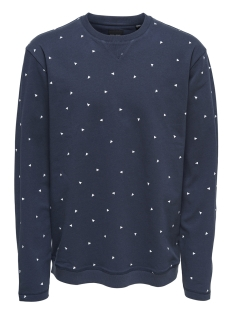 Only & Sons Sweater onsFULTON CREW NECK EXP 22004173 Blue Nights