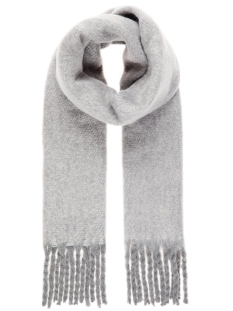 Vero Moda Sjaal VMCARLA LONG SCARF NOOS 10202731 Medium Grey Melange