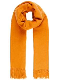 Vero Moda Sjaal VMANA WOOL LONG SCARF COLOR 10206658 Thai Curry