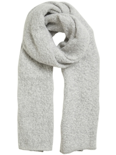 Vila Sjaal VITOBI KNIT SCARF-NOOS 14047111 Light Grey Melange