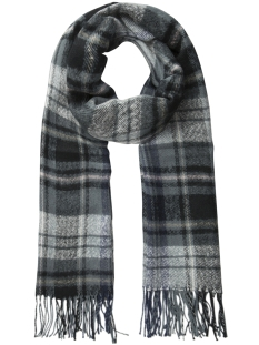 Pieces Sjaal PCFIAN  LONG SCARF 17090685 Stormy Weather