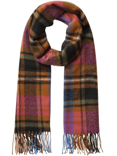 Pieces Sjaal PCFIAN  LONG SCARF 17090685 Leather Brown