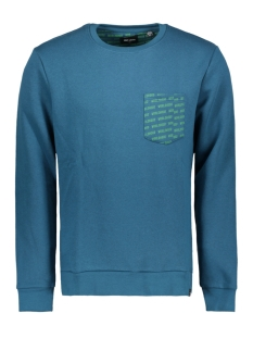 Only & Sons sweater onsWHISTLER POCKET CREW NECK SWEAT 22010998 Legion Blue