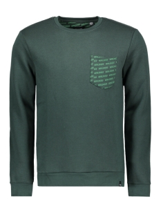 Only & Sons Sweater onsWHISTLER POCKET CREW NECK SWEAT 22010998 Darkest Spruce