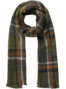 Pieces Sjaal PCFIRI LONG SCARF 17090705 Winter Moss