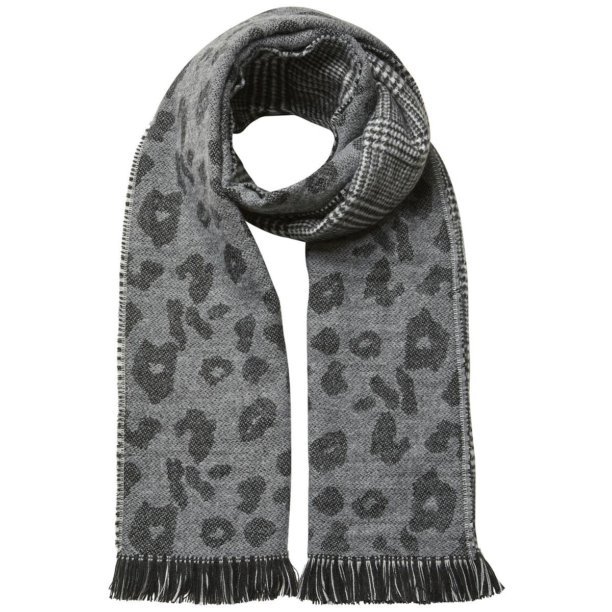 vmminna long scarf 10202639 vero moda sjaal medium grey melange