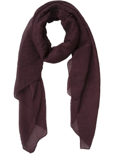 Pieces Sjaal PCKISS LONG SCARF 17092877 Winetasting