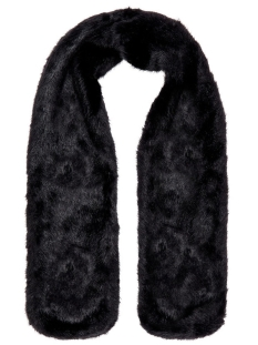 Vero Moda Sjaal VMEDY FAKE FUR SHAWL 10202721 Black