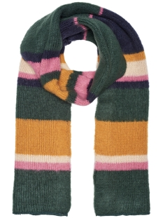 Only Sjaal onlDUSTY KNIT STRIPE SCARF ACC 15166681 Green Gables/MARMELADE