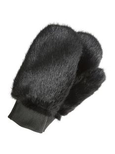 Vero Moda Accessoire VMEDY FAUX FUR MITTENS 10202715 Black