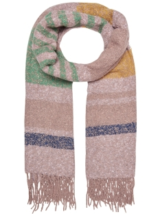 Only Sjaal onlDHARMA WEAVED STRIPE SCARF ACC 15166712 Misty Rose