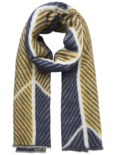 Pieces Sjaal PCLULUS  LONG SCARF PB 17093432 Marttime Blue