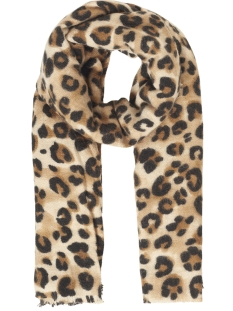 Pieces Sjaal PCBEO LONG SCARF 17094064 Cumin/LEO