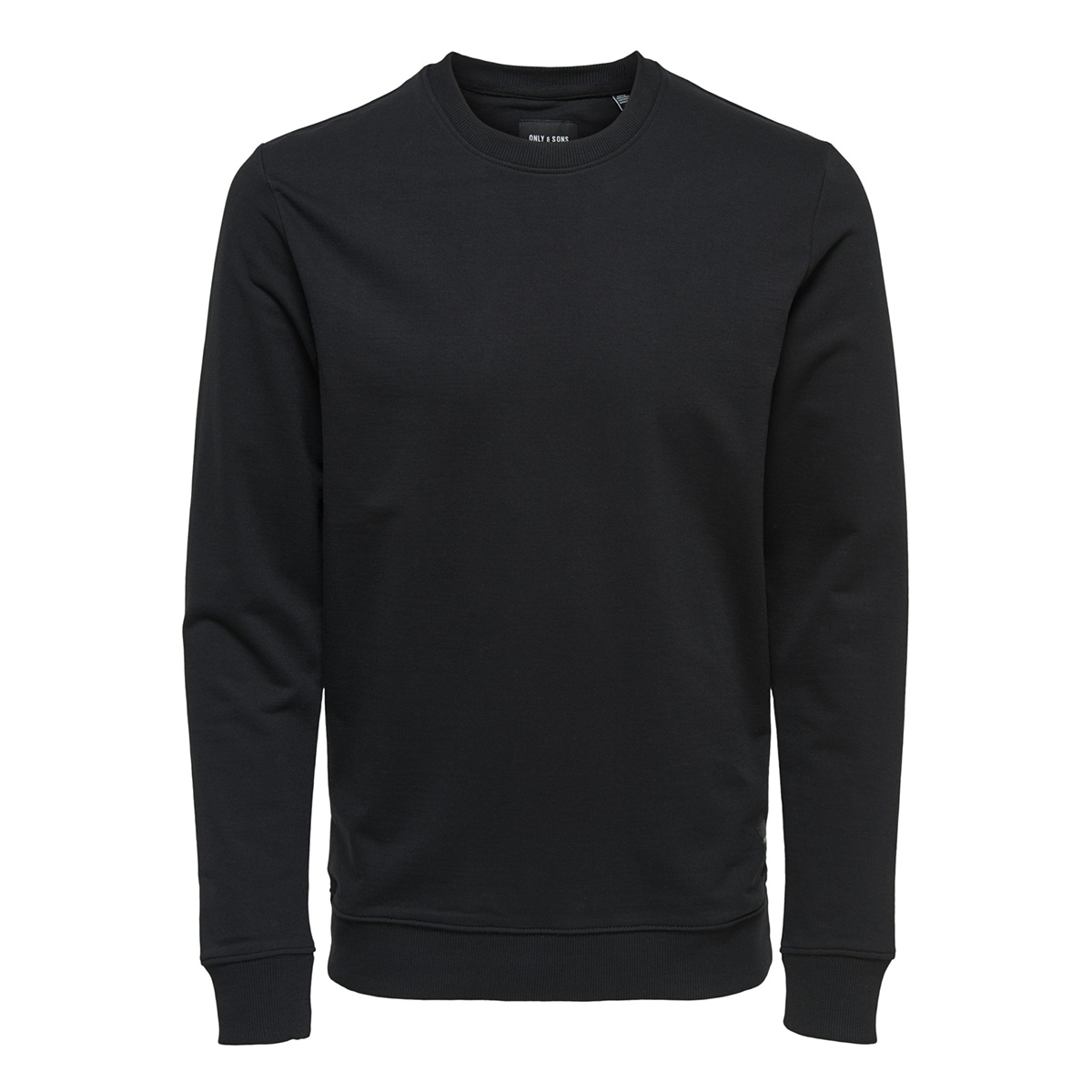 onsbasic sweat crew neck unbrushed noos 22012005 only & sons sweater black