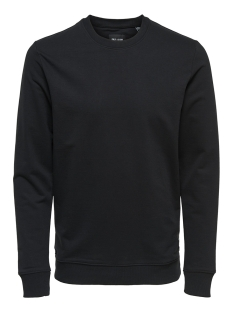 Only & Sons sweater onsBASIC SWEAT CREW NECK UNBRUSHED NOOS 22012005 Black