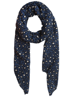 Pieces Sjaal PCBOBBIA LONG SCARF 17094360 Blue Opal