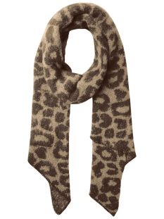 Pieces Sjaal PCJYRON LEO LONG SCARF D2D 17096002 Warm Sand