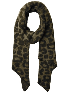 Pieces Sjaal PCJYRON LEO LONG SCARF D2D 17096002 Dark Olive
