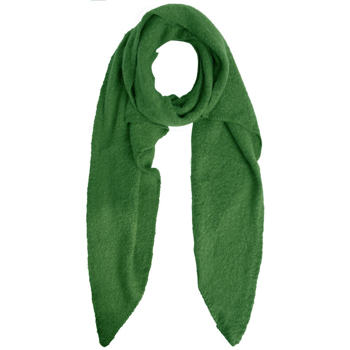 pcpyron long scarf noos 17076047 pieces sjaal simply green