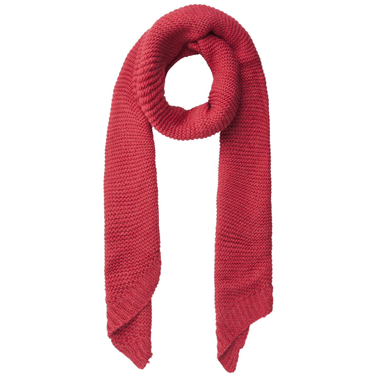 pcdace long wool  scarf noos 17090600 pieces sjaal aura orange