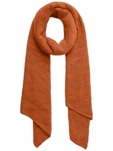 Pieces Sjaal PCPYRON LONG SCARF NOOS 17076047 Rust