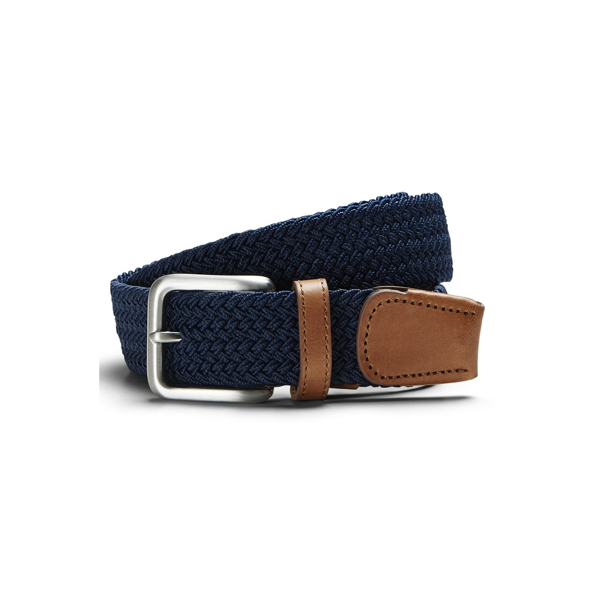 jacspring woven belt noos 12118114 jack & jones riem navy blazer