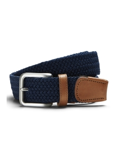 Jack & Jones Riem JACSPRING WOVEN BELT NOOS 12118114 Navy Blazer