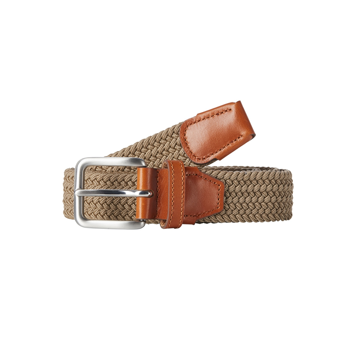 jacspring woven belt noos 12118114 jack & jones riem incense