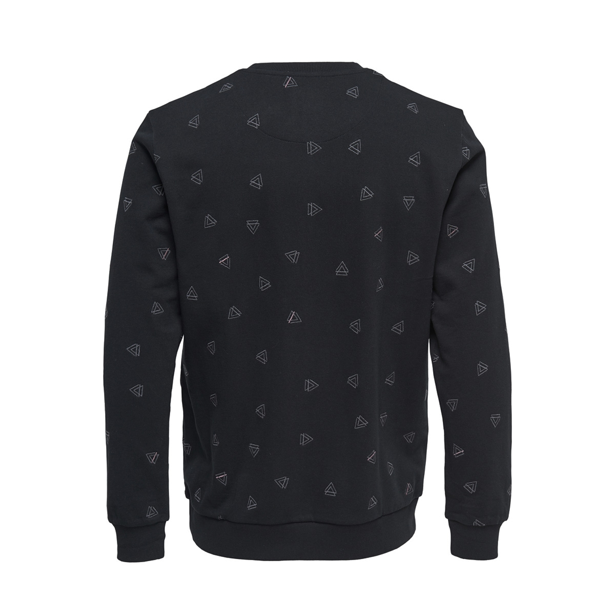 onsopus aoe crew neck sweat 22011843 only & sons sweater black