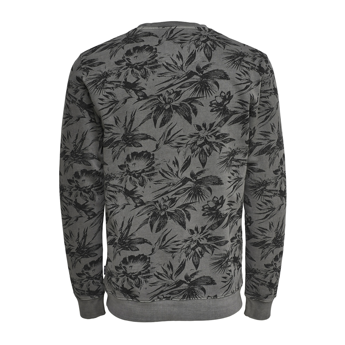 onsthor aop washed crew sweat 22012549 only & sons sweater phantom