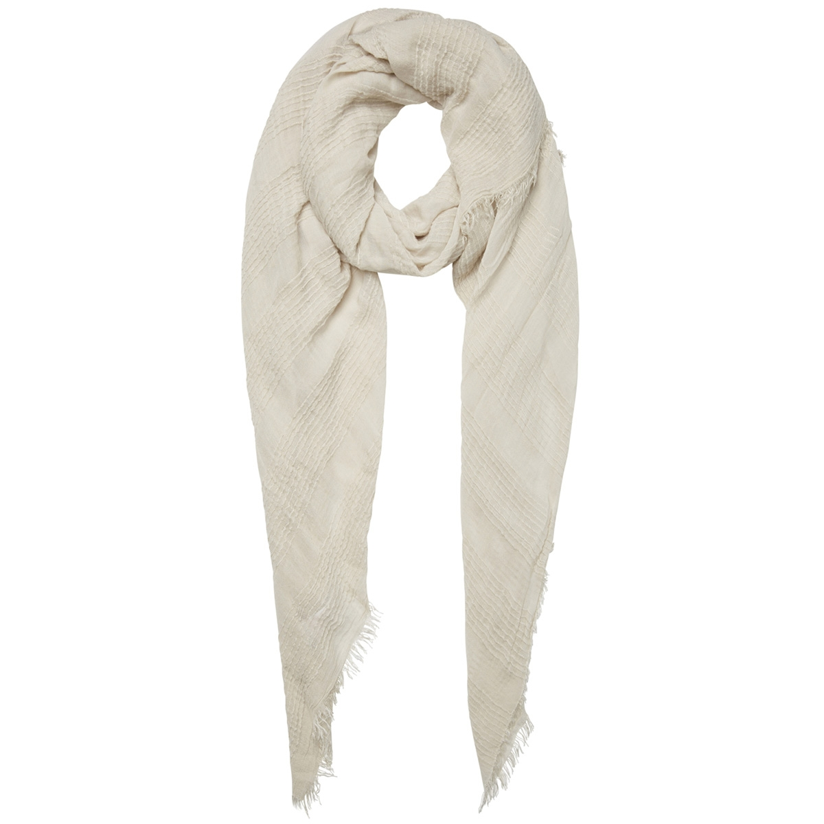 pcchristel long scarf 17096455 pieces sjaal almond milk