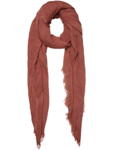 Pieces Sjaal PCCHRISTEL LONG SCARF 17096455 Redwood