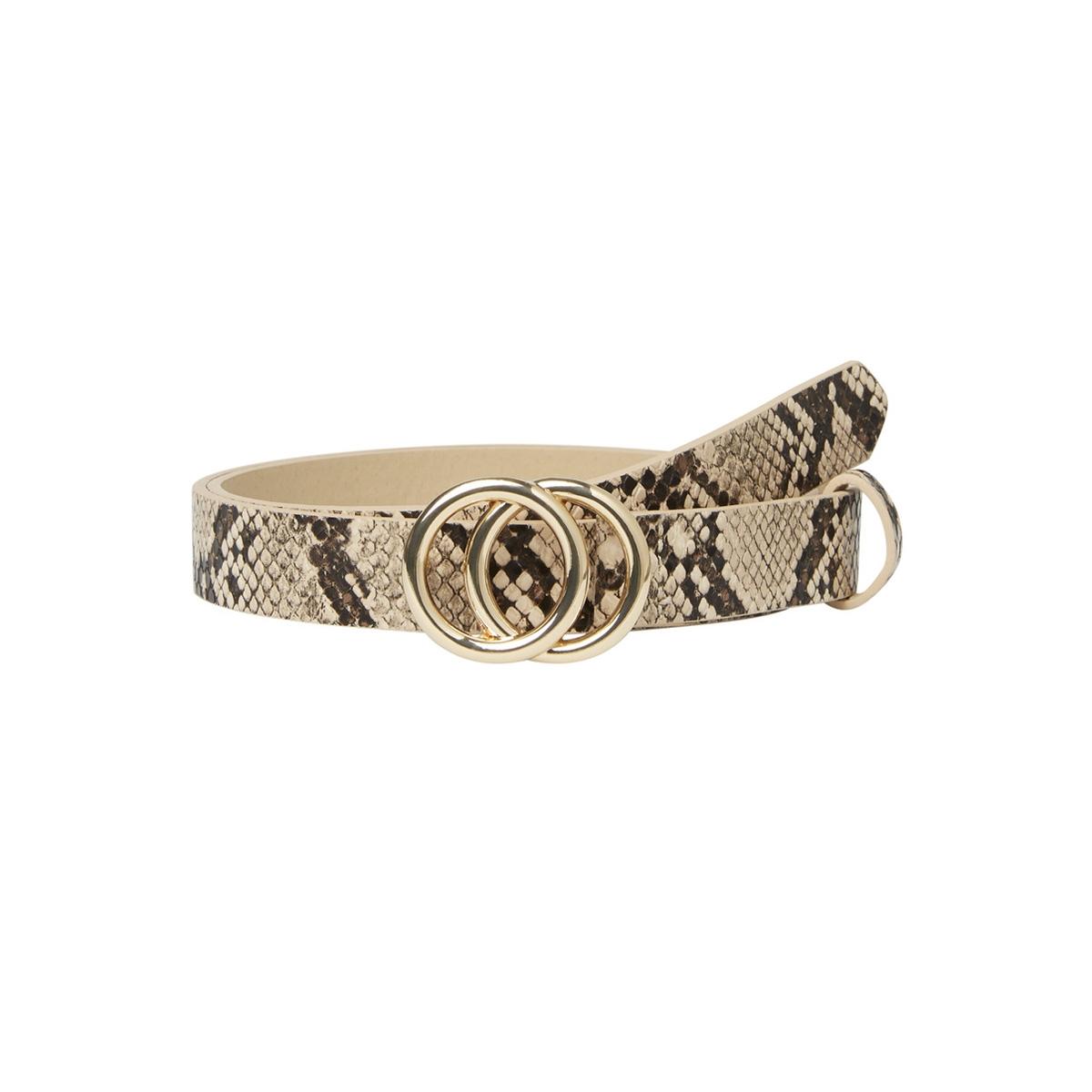 pckarren snake jeans belt d2d 17098797 pieces riem nature