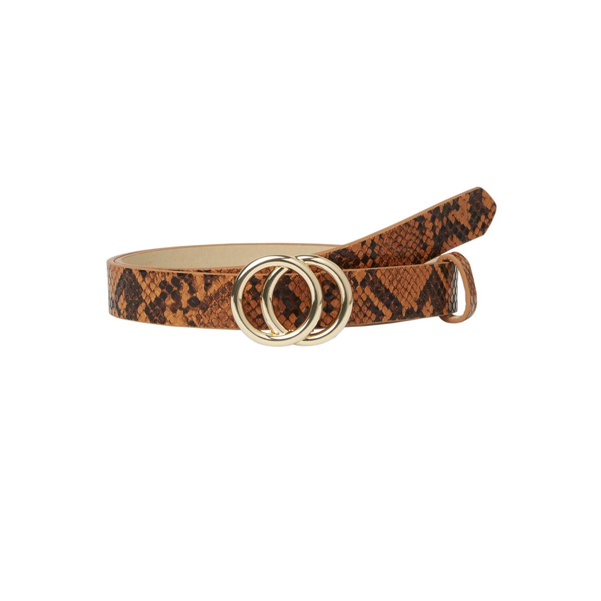 pckarren snake jeans belt d2d 17098797 pieces riem cognac