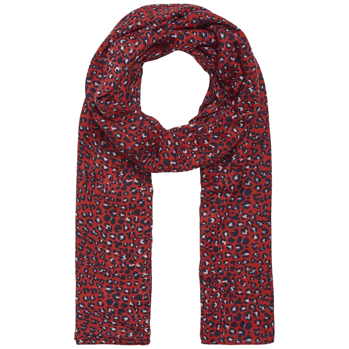 pcbertrud long scarf 17096551 pieces sjaal high risk red