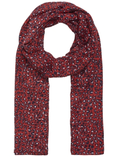 Pieces Sjaal PCBERTRUD LONG SCARF 17096551 High Risk Red