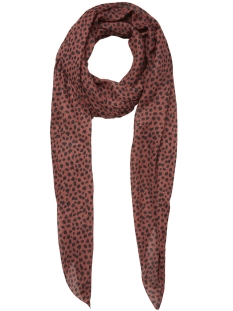 Pieces Sjaal PCCURIE LONG SCARF PB 17096490 Redwood